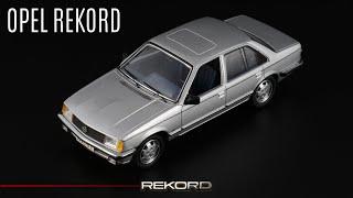 Старый Опель: Opel Rekord E 1977 // Schuco // Масштабные модели автомобилей нашего...