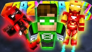 Minecraft Crazy Craft 3: Superheroes VS Tier 6 Dungeon! *FACECAM* #80
