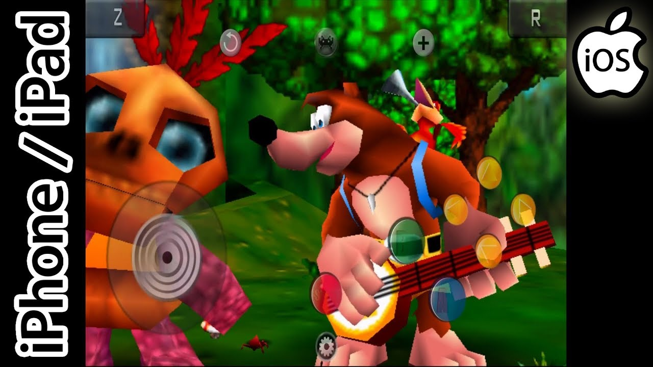 banjo kazooie iphone