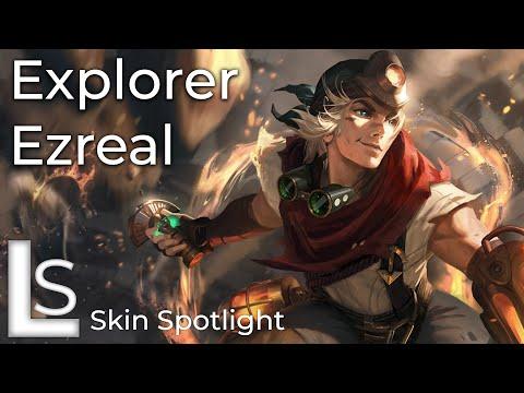 Explorer Ezreal - Skin Spotlight - League of Legends