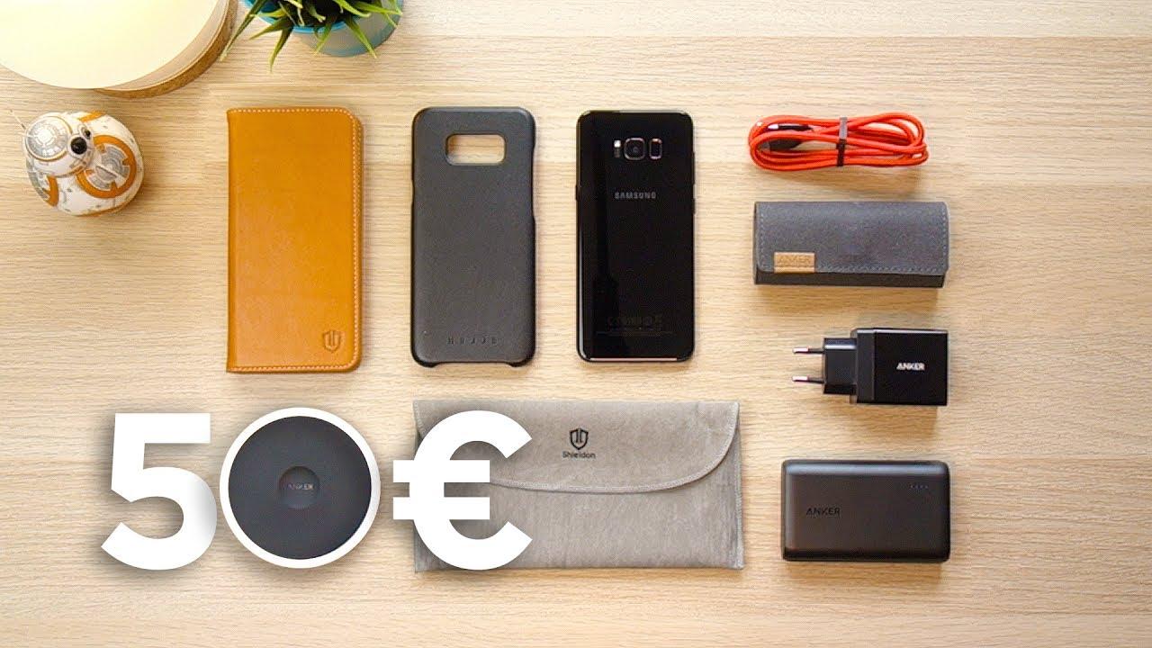 6 raffinati accessori per smartphone sotto i 50 euro youtube. Black Bedroom Furniture Sets. Home Design Ideas