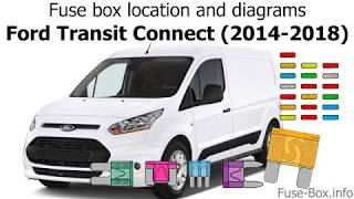 Fuse box location and diagrams: Ford Transit Connect (2014-2018) - YouTubeYouTube