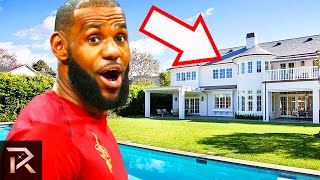 10 Most Insane Mansions Owned By Sports Legends