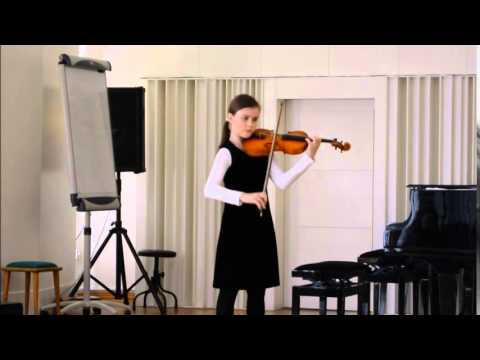 H.Wieniawski- Kaprys Op.10 nr 5 wyk.Marta Gebska