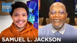 Samuel L. Jackson - Finding His Ancestral Tribe in Gabon | The Daily Social Distancing Show