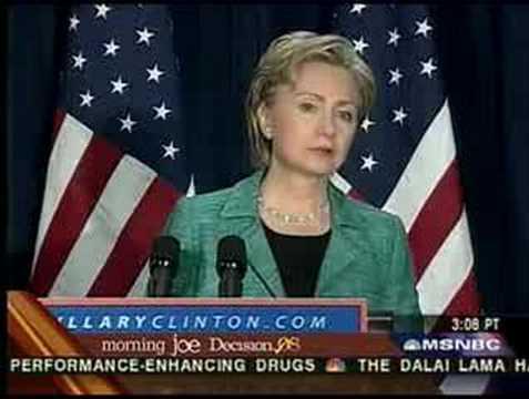 Hillary CAFTA Clinton