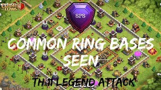 Common Ring Bases Seen   3 star attack   Legend league   Clash of clans