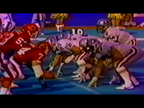 Week 3 - 1985: Los Angeles Express vs New Jersey Generals