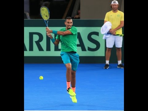 Nick Kyrgios takes the Lleyton Hewitt quiz