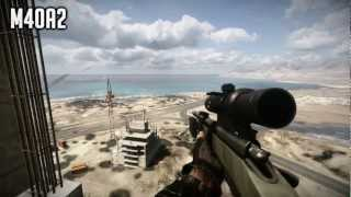 BATTLEFIELD 3 - ALL WEAPONS