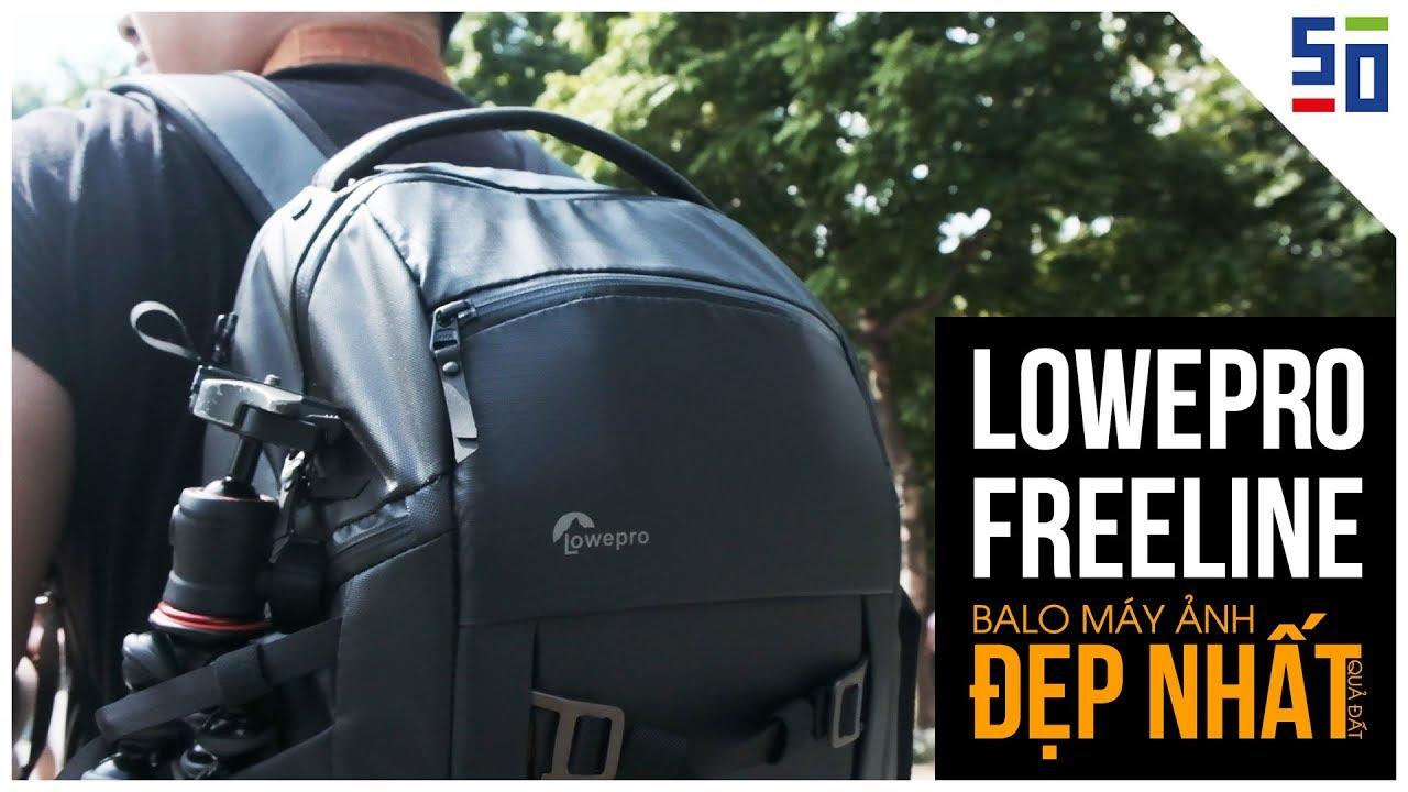 Lowepro Freeline AW350 – Chiếc balô máy ảnh ĐẸP NHẤT QUẢ ĐẤT?