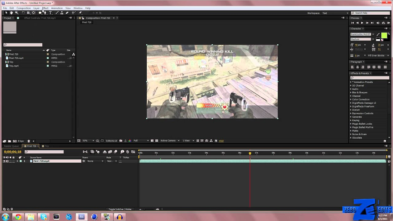 Tutorials - RSMB Plug-In Overview - After Effects - YouTube