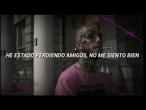 Lil Peep 4 Gold Chains Español
