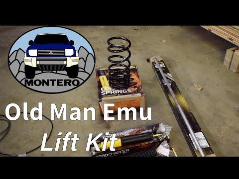 Mitsubishi Montero Lift Kit Old Man Emu By ARB Install (Pajero)