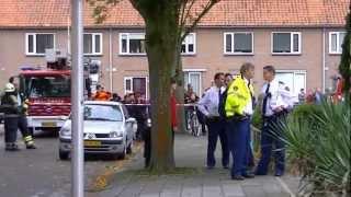 13-10 Gewonde bij brand Van Karnebeekstraat