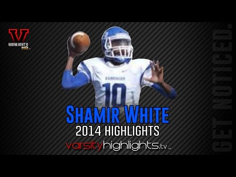 Shamir White 2014 Highlights (Barringer High School, Newark NJ)