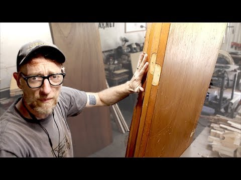How To Reclaim Hollow Core Doors (The New Pallet Wood)