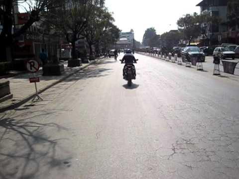 Biraj Testing Ducati In Nepal