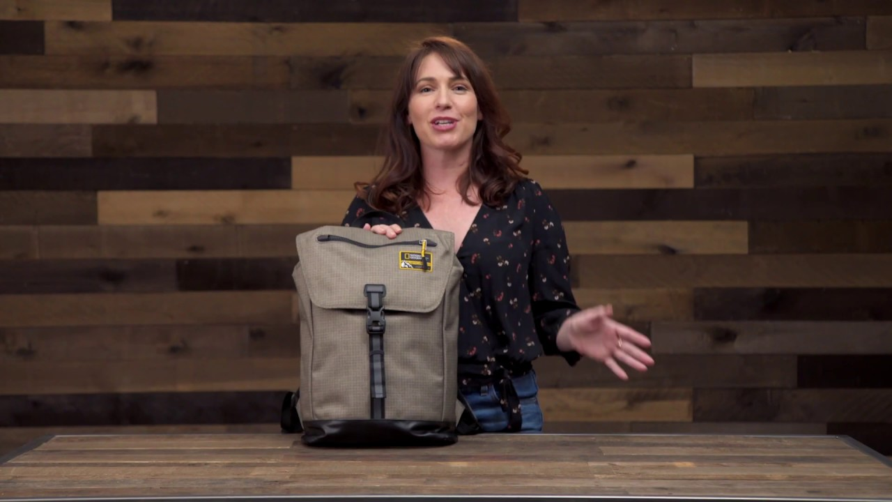22988937a National Geographic Adventure Backpack 15L - YouTube