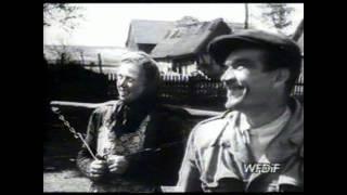 Elektryfikacja Kaszubskich wsi Kłączno 1954r cz.II