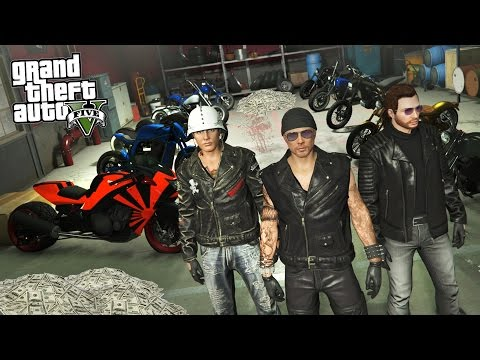 GTA 5 Biker Gang Life #1 - STARTING A BIKER GANG!! GTA 5 Biker DLC Update! (GTA 5 Bikers Gameplay)