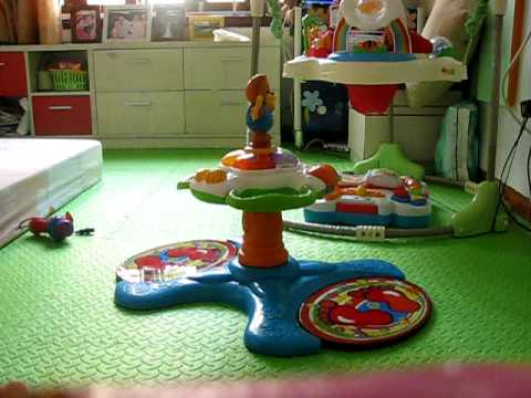 Sunny With Vtech Sit To Stand Dancing Tower Avi Youtube