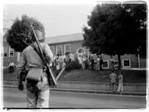 Capt. Jim Page, narrates this look at Operation Arkansas, where the Arkansas National Guard and the 101st Airborne Division deployed to Little Rock to enforce a federal district court order to allow black students to go to school.   Explore more at:  Guardians of Freedom Operation Arkansas, 1957  http://www.army.mil/arkansas