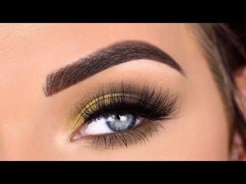 ColourPop x Kathleen Lights So Jaded Eyeshadow Palette | Smokey Green Eye Makeup Tutorial thumbnail
