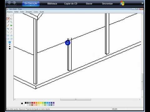 Desenhando Uma Casa No Paint Youtube