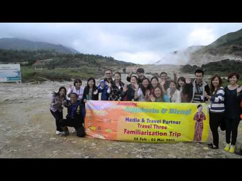 TRAVEL THREE Media & Travel Partner Fam Trip - AMAZING JOGJAKARTA & DIENG!