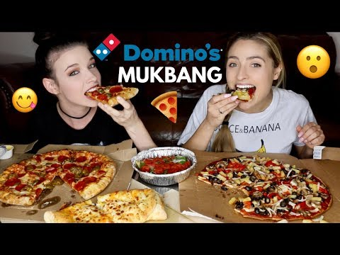 DOMINO'S PIZZA MUKBANG!! Discussing YouTube Changes