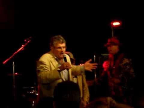 Rob Schneider, Bob Sarlatte and Jeremy Kramer sing...