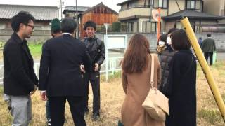 【岡田克也】芝博一参議院議員と地元にて座談会・街頭演説会