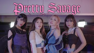 BLACKPINK - 'PRETTY SAVAGE' DANCE COVER BY PINK PANDA FROM INDONESIA