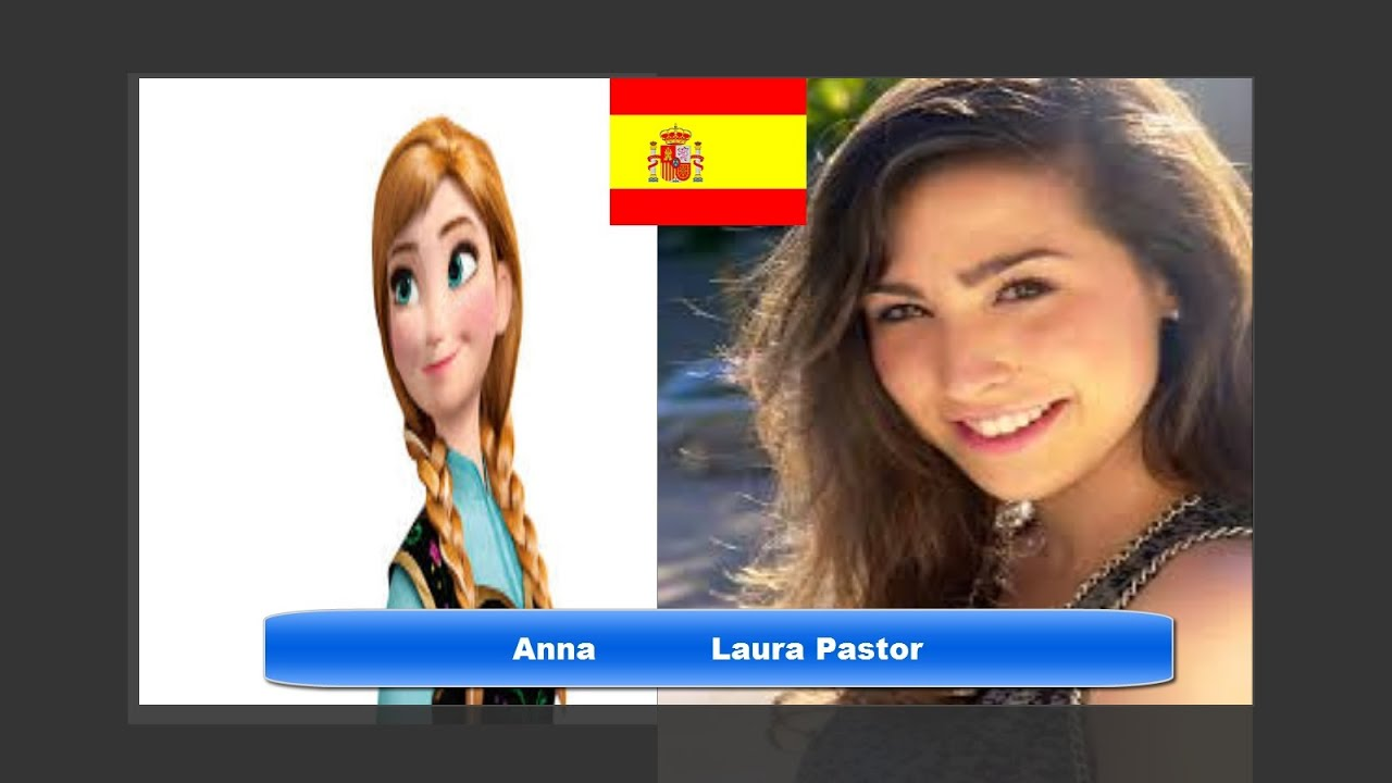 Elsa Saudades De Voces: Mira Como Son Las Princesas Disney En Sus Voces Españolas