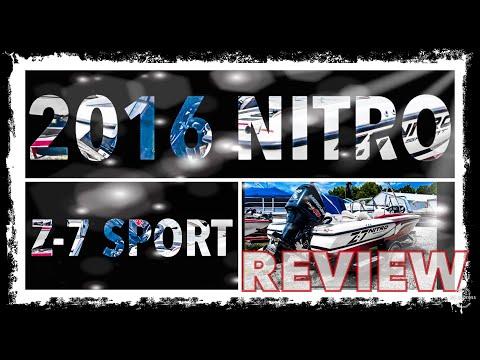 2016 Nitro Z-7 Sport Fish And Ski Boat For Sale Video Review