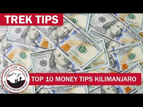 Top 10 Money Tips in Tanzania and Overseas | Trek Tips
