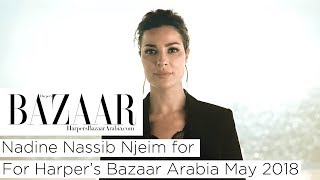 Baixar Nadine Nassib Njeim For Harper's Bazaar Arabia May 2018