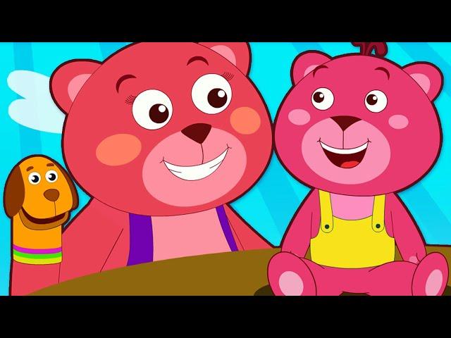 Если ты счастлив и знаешь | HooplaKidz песенки для детей | Мама и детские колыбельные