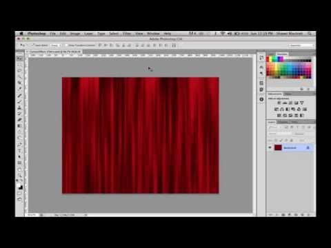 How To Create A Realistic Looking Curtain Effect In Photoshop Using Filters