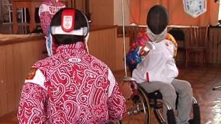 В Уфе ученики 35-ой школы получили урок фехтования