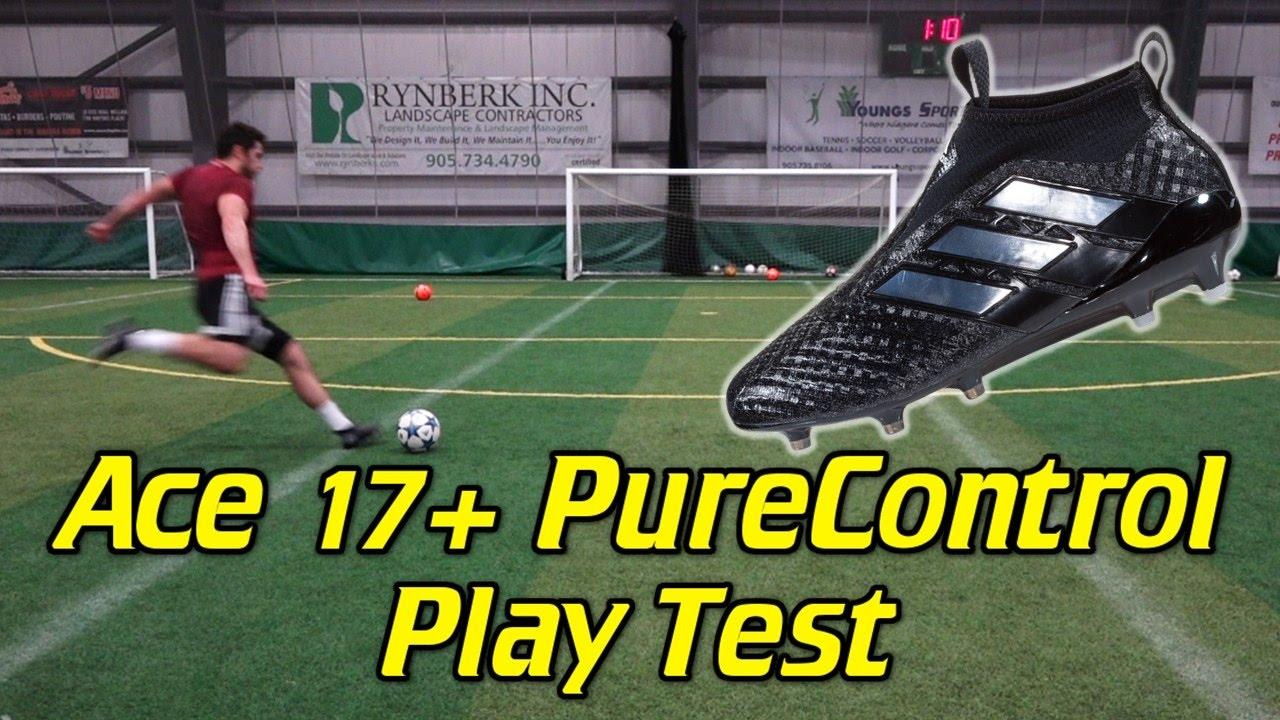 eb3c6e485 Adidas ACE 17+ PureControl Review - Play Test + Freekicks - YouTube