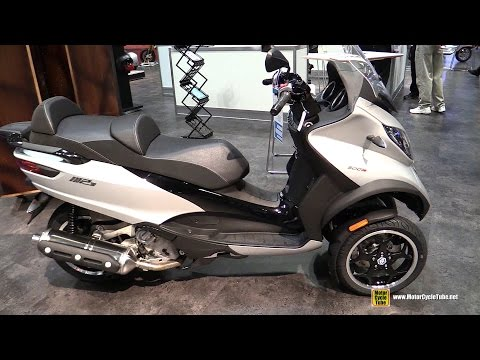 2017 Piaggio MP3 500 ie ABS Scooter - Walkaround - 2016 AIMEXpo Orlando