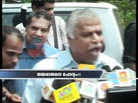 Agitated MV Jayarajan gets crude while talking to Kannur police officer