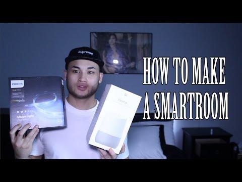 how-to-make-a-smartroom-(google-home)