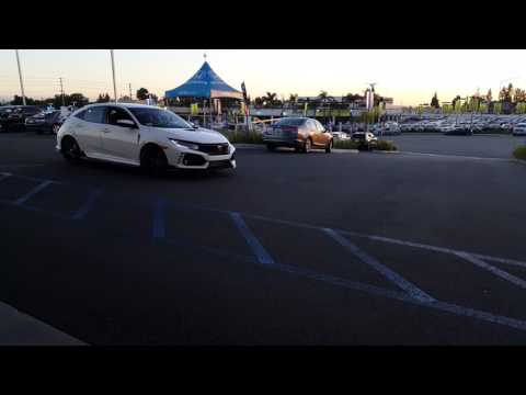Type R leaving the dealership Metro Honda