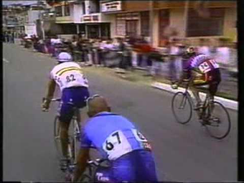 Campeonato del mundo de Ciclismo de Colombia 1995. Ganador Abraham Olano
