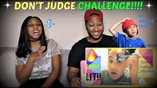 FUNNIEST! Don't Judge a Book by Its Cover Challenge REACTION!!!