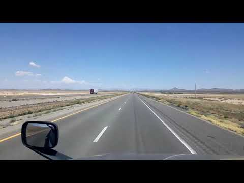 BigRigTravels LIVE! near AZ/NM border to El Paso, Texas I-10 East-Sept. 4, 2020