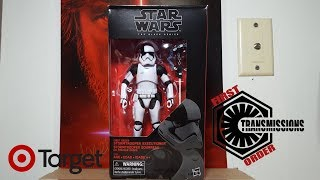 """Star Wars The Black Series Target Exclusive 6"""" Stormtrooper Executioner Figure Review"""